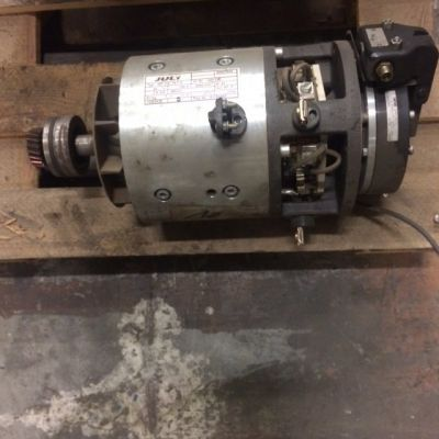 Traction motor for Jungheinrich